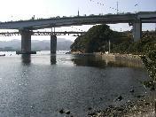 ホテル近くの小鳴門海峡