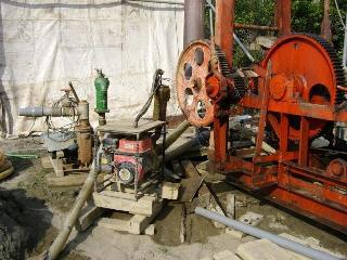 地下水工事開始