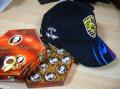 チョコと帽子.JPG